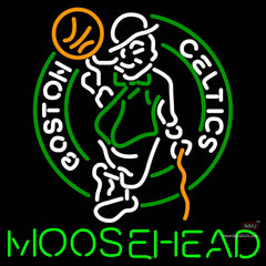 Moosehead Boston Celtics NBA Neon Beer Sign