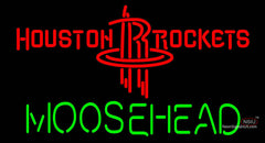 Moosehead Houston Rockets NBA Neon Beer Sign