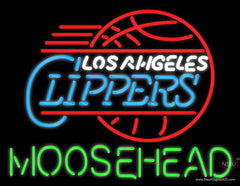 Moosehead Los Angeles Clippers NBA Neon Beer Sign