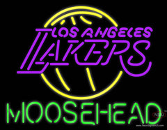 Moosehead Los Angeles Lakers NBA Neon Beer Sign