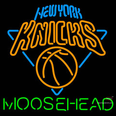 Moosehead New York Knicks NBA Neon Beer Sign