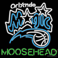 Moosehead Orlando Magic NBA Neon Beer Sign