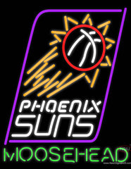 Moosehead Phoenix Suns NBA Neon Beer Sign