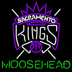 Moosehead Sacramento Kings NBA Neon Beer Sign