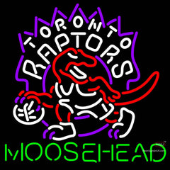 Moosehead Toronto Raptors NBA Neon Beer Sign