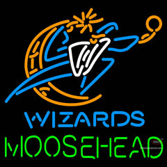 Moosehead Washington Wizards NBA Neon Beer Sign