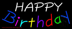 Happy Birthday Handmade Art Neon Sign