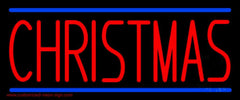 Red Christmas Handmade Art Neon Sign