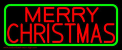 Red Merry Christmas Handmade Art Neon Sign