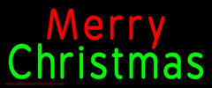 Red Merry Green Christmas Handmade Art Neon Sign