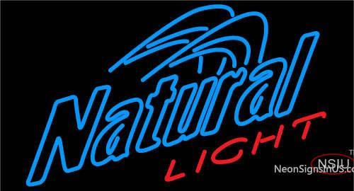 Natural Light Enhance Neon Beer Sign