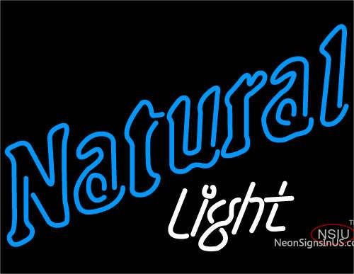 Natural Light Neon Beer Sign