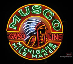 Musgo Gasoline Neon Sign