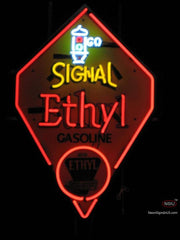 Signal Ethyl Gasoline Neon Sign