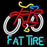Fat Tire Amber Ale Schwinn Style Bicycle Neon Sign