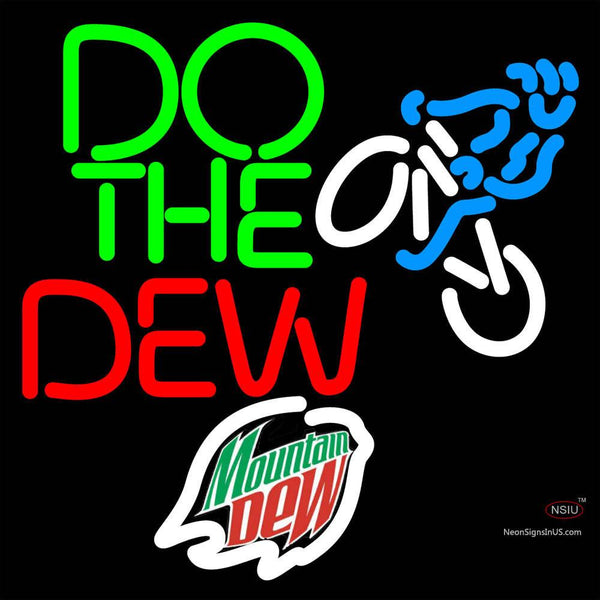 Mountain Dew Do the Dew  Neon Sign