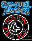 Sam Adams Double Stroke Boston Red Sox MLB Neon Beer Sign
