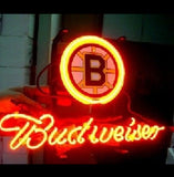 New Budweiser Beer Nhl Boston Bruins Beer Bar Neon Light Sign
