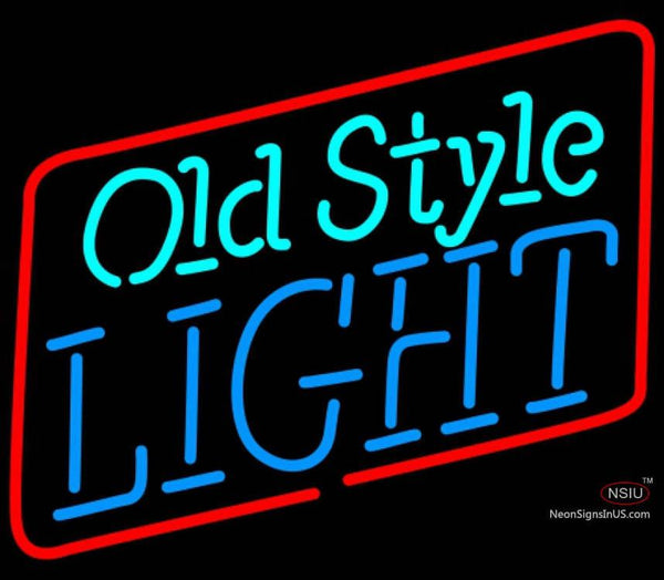 Old Style Light Neon Beer Sign x