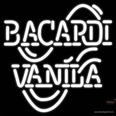 Bacardi Vanila Real Neon Glass Tube Neon Sign
