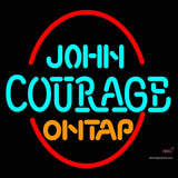 John Courage On Tap Neon Sign