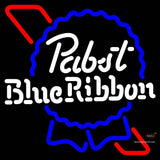 Pabst Blue Ribbon Blackbox Neon Beer Sign x