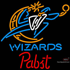 Pabst Washington Wizards NBA Beer Neon Sign