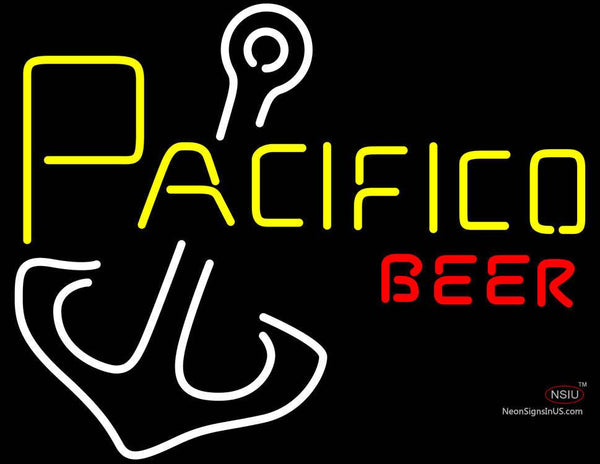 Pacifico Anchor Neon Beer Sign