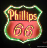 Phillips  Gasoline Neon Sign
