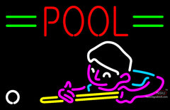 Pool Boy Neon Sign