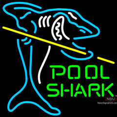 Pool Shark Neon Sign x