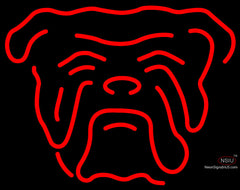 Red Dog Head Neon Beer Sign