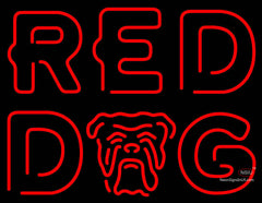 Red Dog Neon Sign