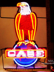 Richfield Case Gasoline Neon Sign