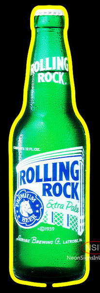 Rolling Rock Cincy Neon Beer Sign