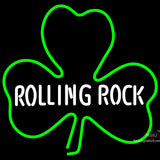 Rolling Tock Green Clover Neon Beer Sign x
