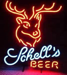New Schell's Beer Deer Neon Sign