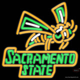 Sacramento State Hornets Alternate   NCAA Real Neon Glass Tube Neon Sign  x