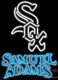 Samual Adams Double Chicago White Sox MLB Real Neon Glass Tube Neon Sign