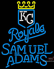 Samual Adams Single Line Kansas City Royals MLB Neon Signs