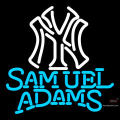 Samual Adams Singleline White MLB Neon Sign   x