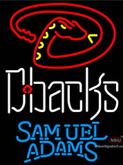 Samuel Adams Arizona Diamondbacks MLB Neon Sign