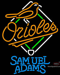 Samuel Adams Baltimore Orioles MLB Neon Sign