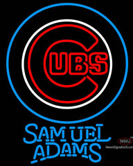 Samuel Adams Chicago Cubs MLB Neon Sign