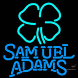 Samuel Adams Clover Neon Beer Sign x