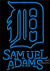 Samuel Adams Detroit Tigers MLB Neon Sign
