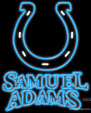 Samuel Adams Double Line Indianapolis Colts NFL Real Neon Glass Tube Neon Sign