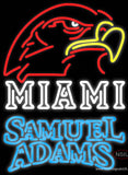 Samuel Adams Double Line Miami UNIVERSITY Fall Session Real Neon Glass Tube Neon Sign