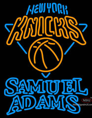 Samuel Adams Double Line New York Knicks NBA Neon Sign
