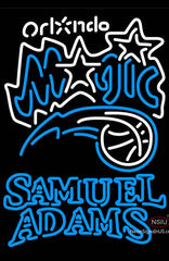 Samuel Adams Double Line Orlando Magic NBA Neon Sign
